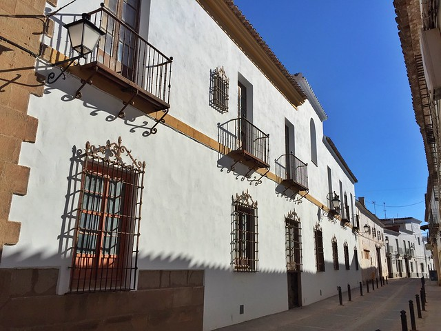 Calle de Villanueva de los Infantes (Ciudad Real) - Ruta de Don Quijote de La Mancha