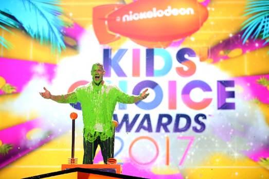 Pemenang NICKELODEON'S 2017 KIDS' CHOICE AWARDS
