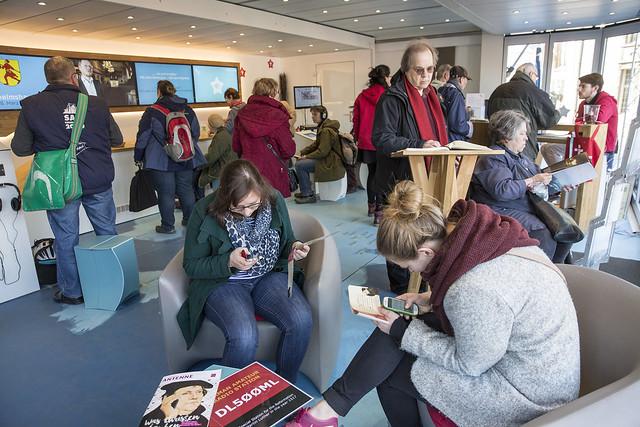Gäste im Geschichtenmobil am 25. März 2017