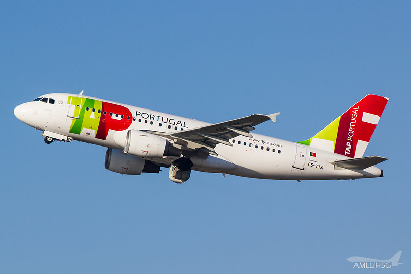 TAP Portugal - A319 - CS-TTK (1)