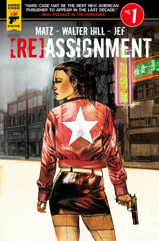 The Assignment - Comic - Cover 1