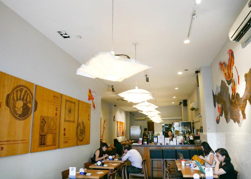 Manzoku Japanese Restaurant: Interior