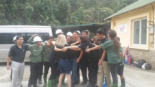 Group hug at VBRC