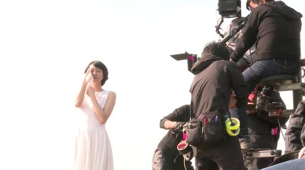 新垣結衣クレシアCMのメイキング映像