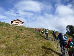 Aufstieg zur Mauerberghütte