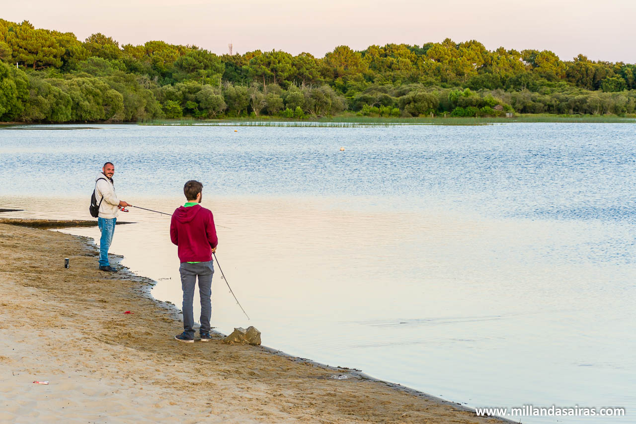 Pescando en el lago de Latécoère