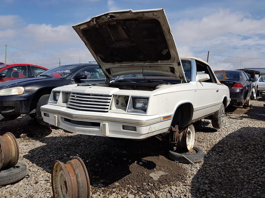 1984 Dodge 600 Convertible