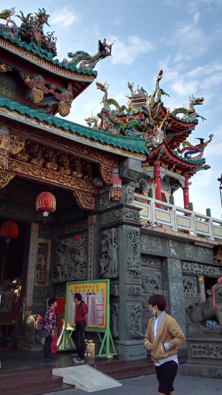 台南の寺院 安平