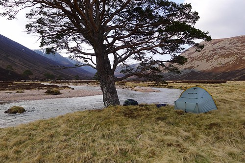 Wild camp in Glen Derry | by Nick Bramhall