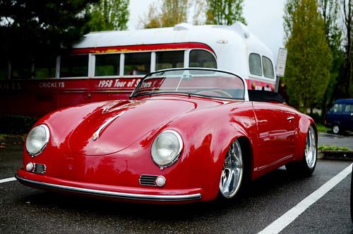 Custom Porsche 356 Speedster All Porsche Car Meet 2013