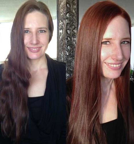 colour-makeover-dark-blonde-to-red-copper | by vanmobilehair