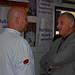 Chef Garry Gosse with MHA Glenn Littlejohn