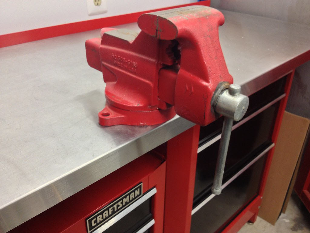 Craftsman Columbian 4 Bench Vise Model Flickr