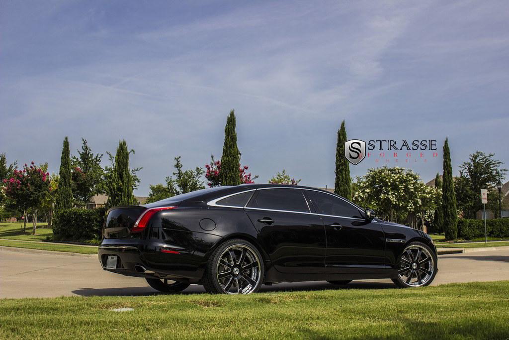 Inch Wheels >> Strasse Wheels Supercharged Jaguar XJL | 22 inch T8 Wheels. … | Flickr