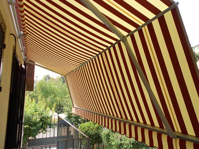 Tenda da sole Marcesa www.mftendedasoletorino.it M.F. Tende Torino vista laterale