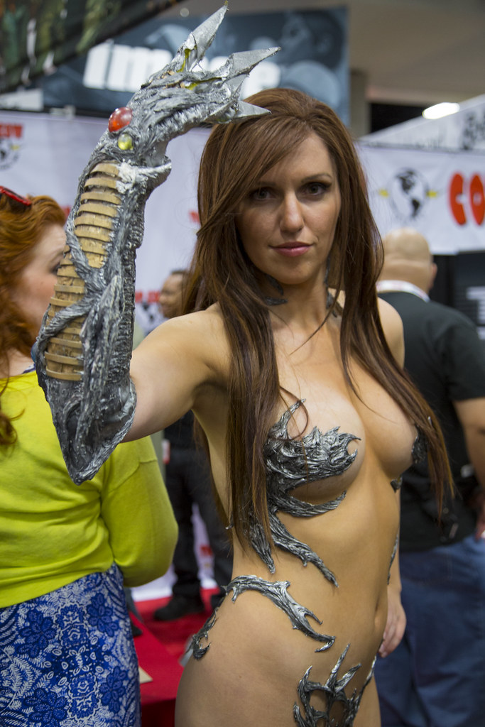Her pussy witchblade cosplay nude that
