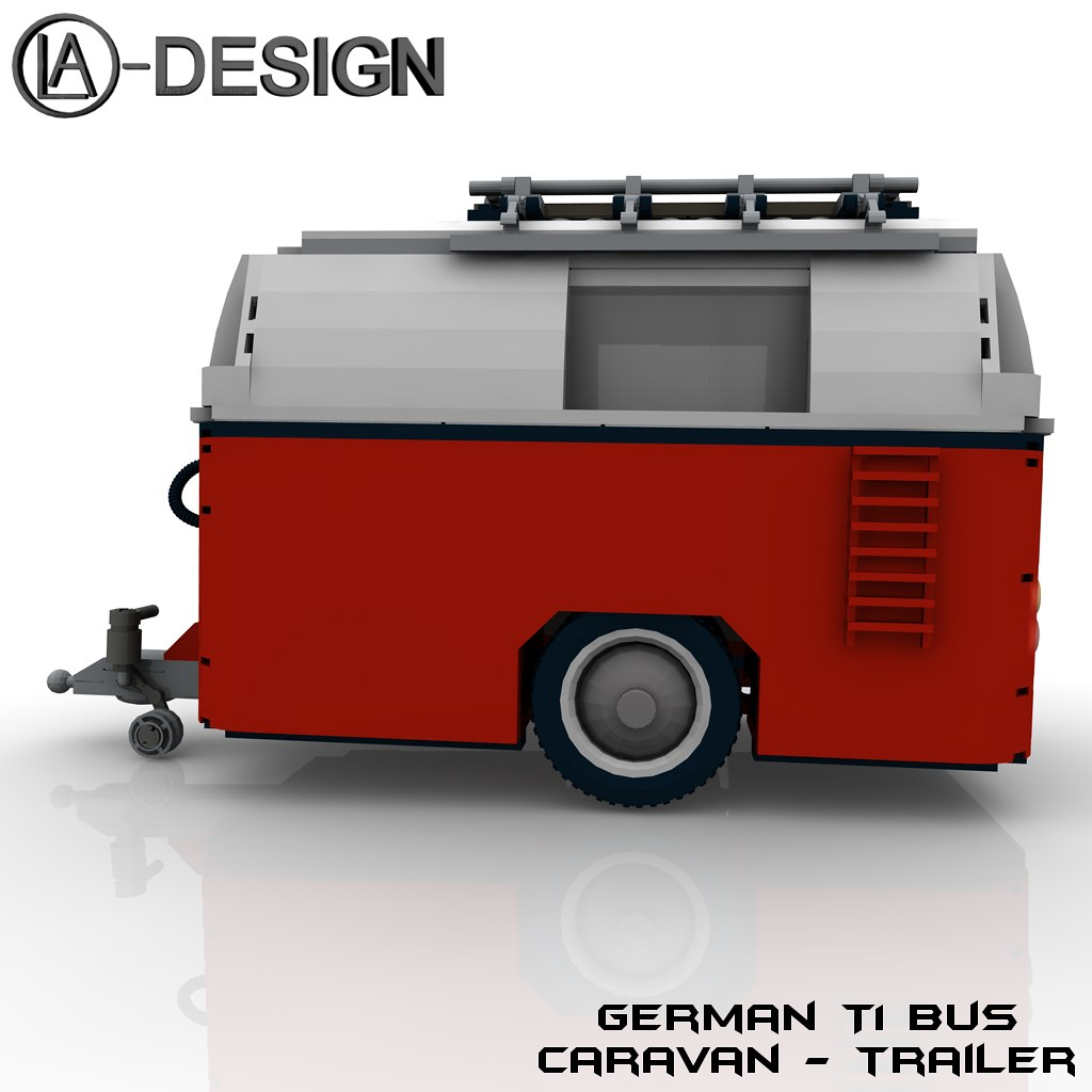 lego custom wohnwagen vw t1 bus 2 the custom caravan. Black Bedroom Furniture Sets. Home Design Ideas