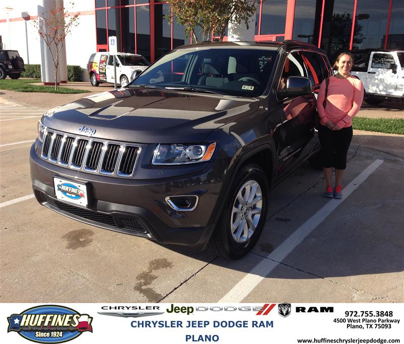 Thank You To Rebecca Rother On Your New 2014 Jeep Grand