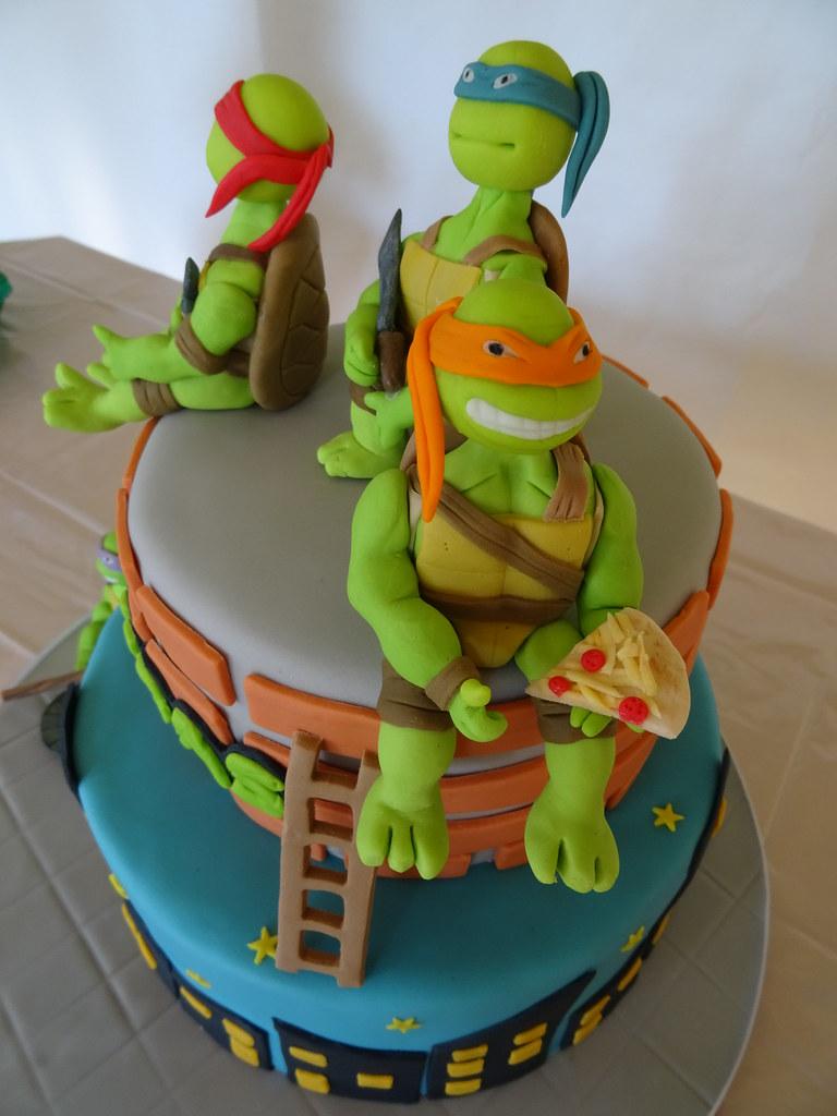 Turtle cake bolo tartaruga ninja microsoft windows flickr