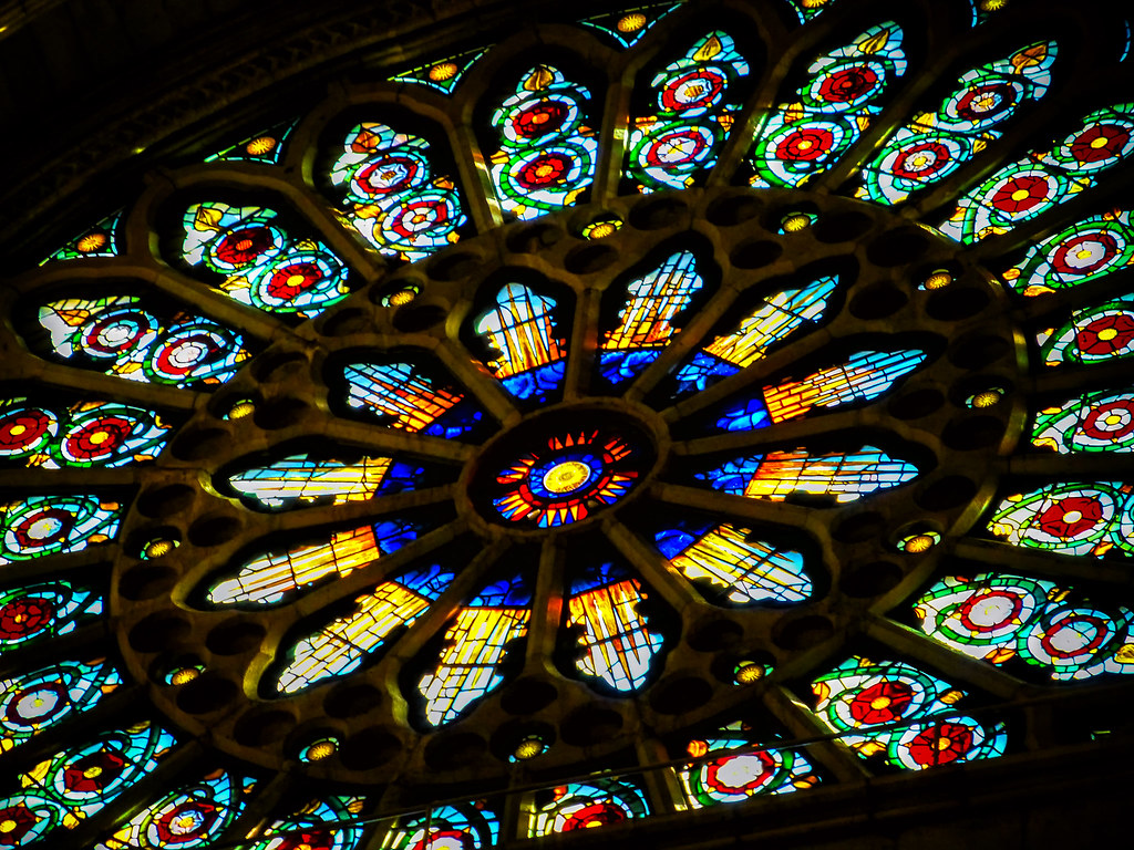 rose window york minster york uk sandy duncan rudd