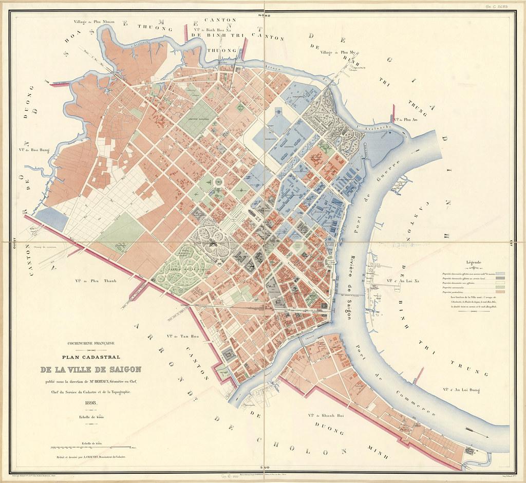 Plan Ville Saigon