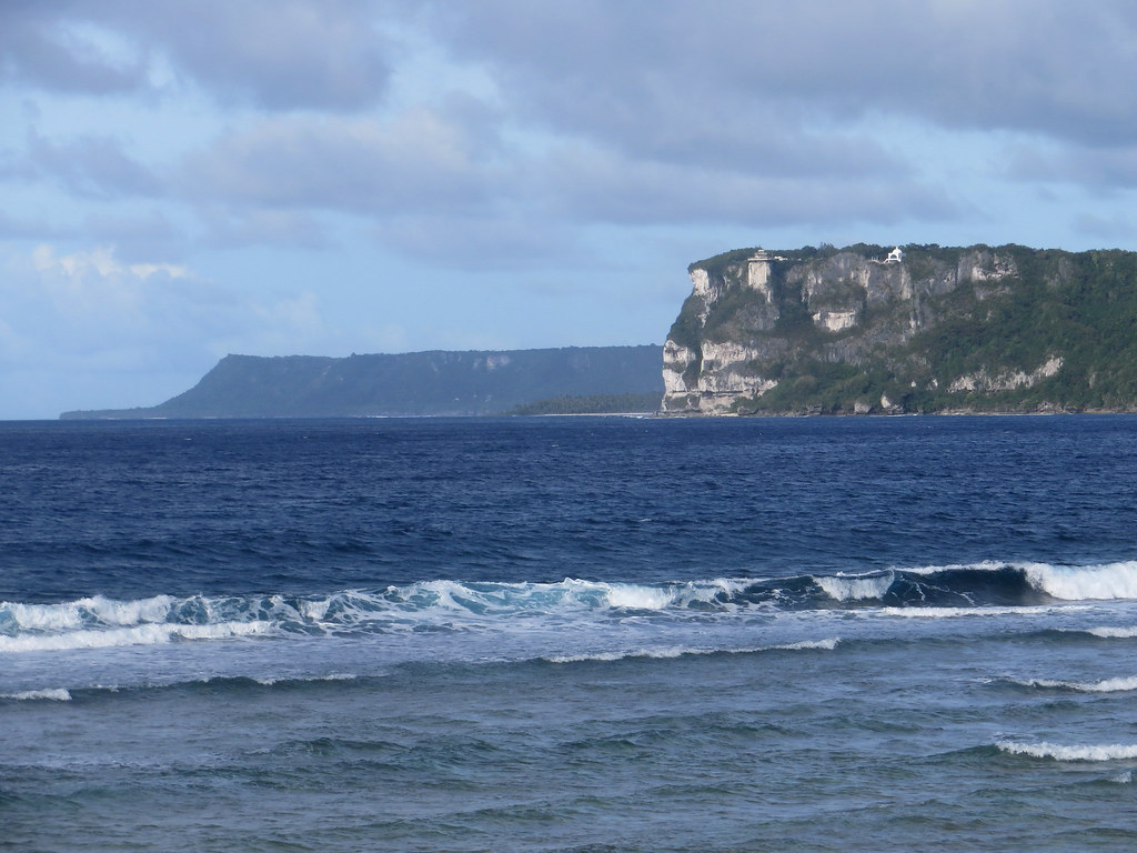 Two lovers point looking across tumon bay and out to the for 2 lovers pic