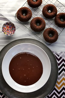 Double Chocolate Cake Doughnuts | by joy the baker