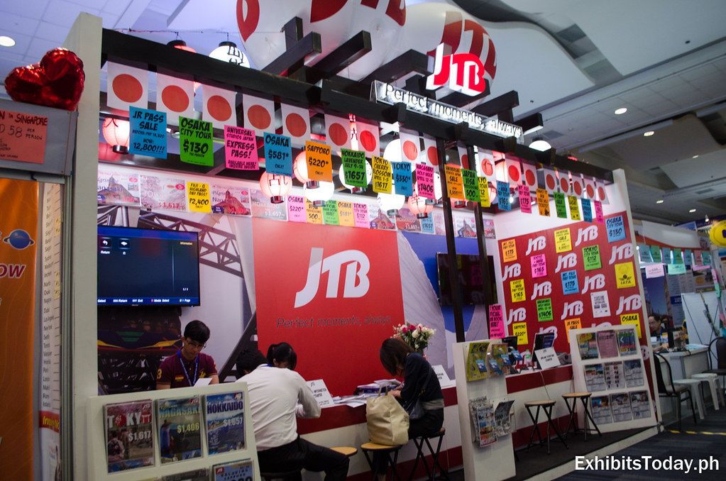 JTB Philippines Exhibit Booth