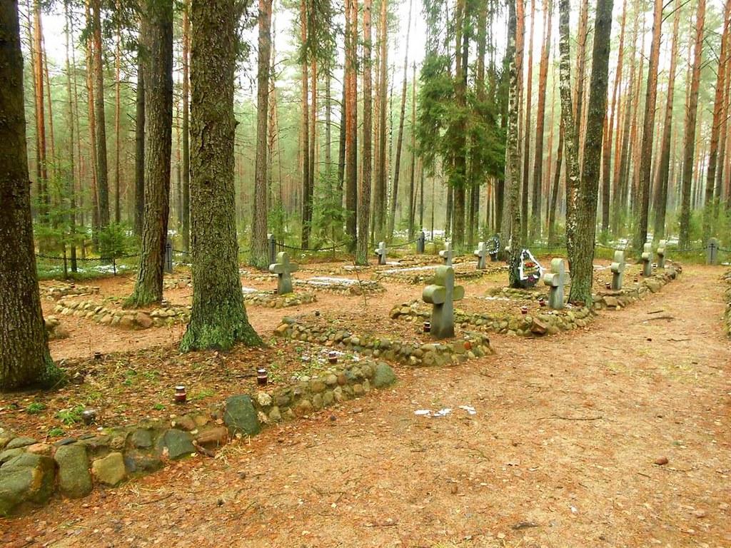 кладбище первой мировой
