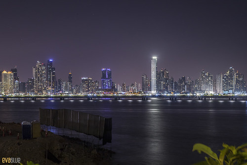 skyline night panama Pandemonio 2017 - 01 | by Eva Blue