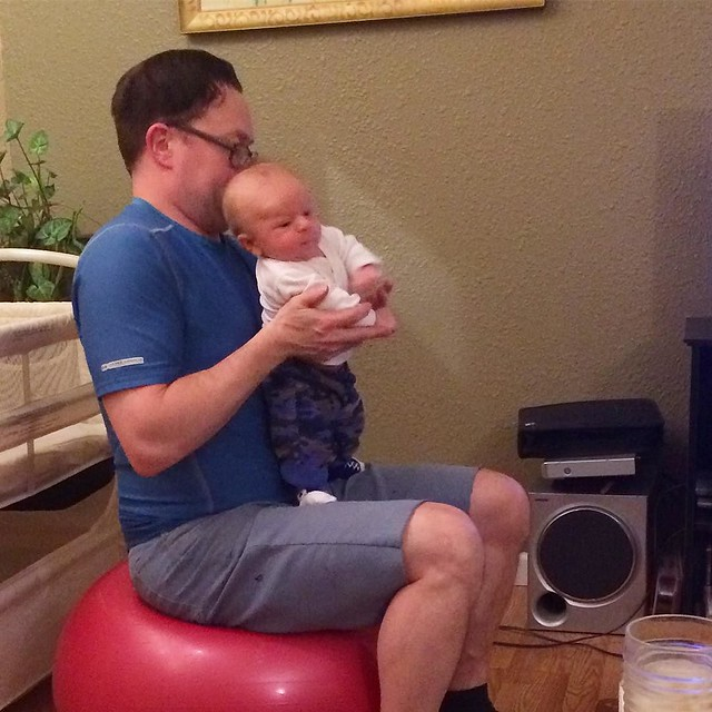 Advanced baby techniques: standing tall! 💪
