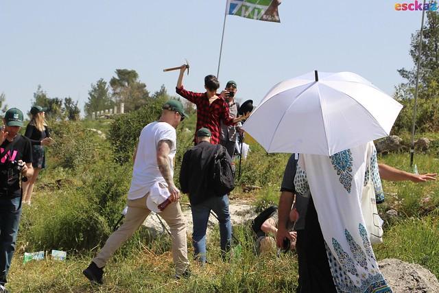 Israel Calling Tree Planting ceremony