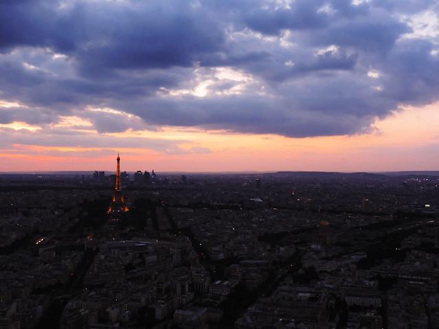 Paris Photo Essay: Montparnasse Tower Observation Deck, Paris, France