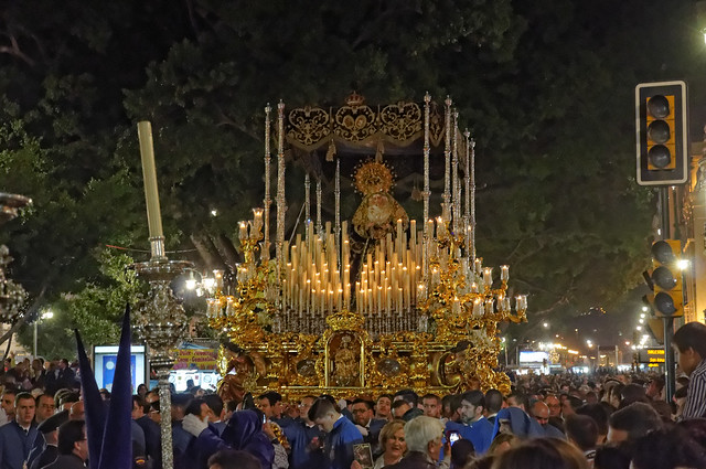 Celebration of Semana Santa in Malaga