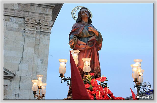 Procesión del Santo Entierro en la Semana Santa de Briviesca 2017 22