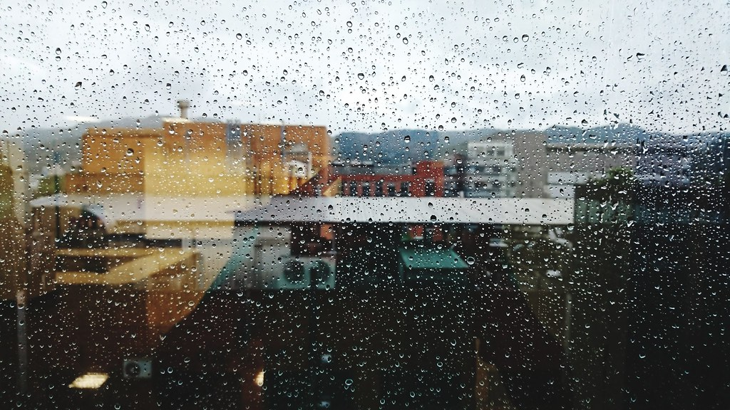 Glass - Material Window Drop Wet Rain Water Rainy Season I… | Flickr