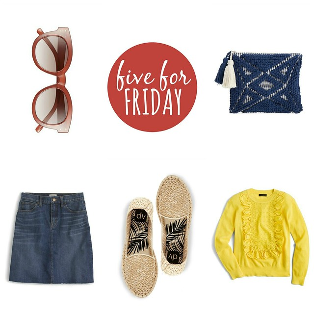 five for friday spring into summer | Style On Target blog