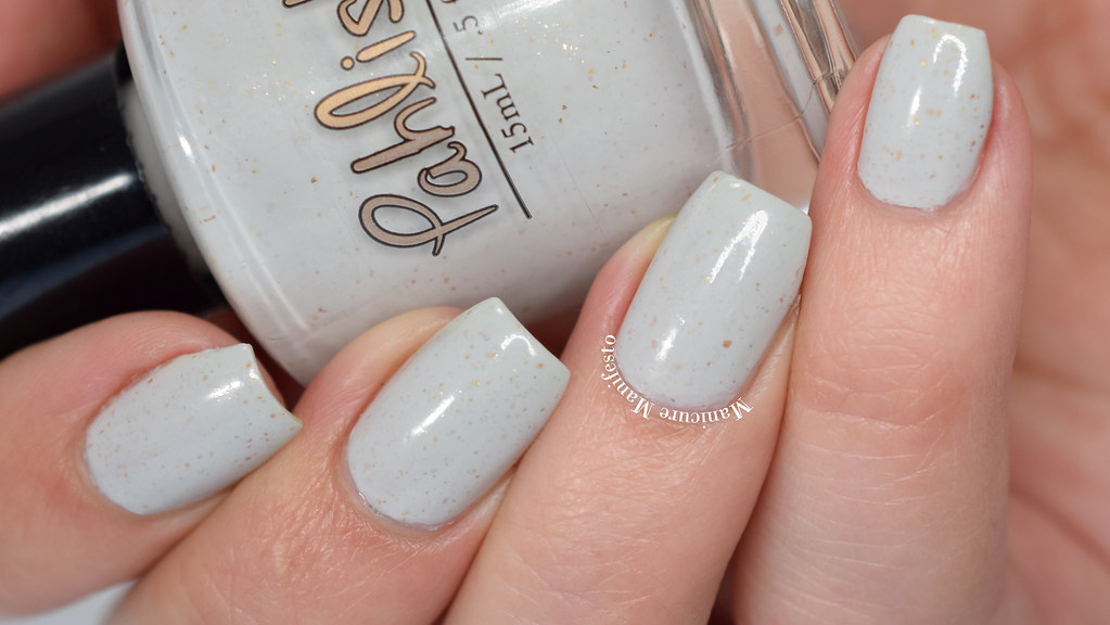 Pahlish l'or blanc swatch