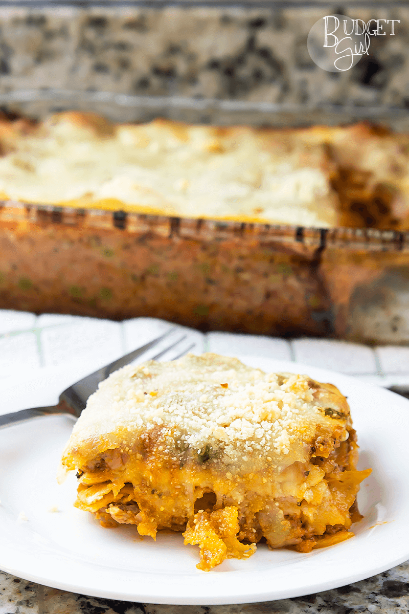 Sicilian Lasagna with Peas and Sausage