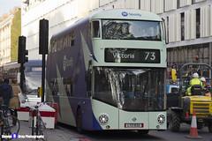 Wrightbus NRM NBFL - LTZ 1532 - LT532 - Spotify - Victoria 38 - Arriva - London 2016 - Steven Gray - IMG_5582
