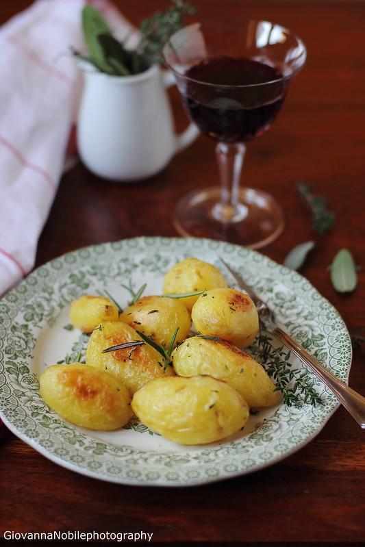 Ricetta delle patate al forno