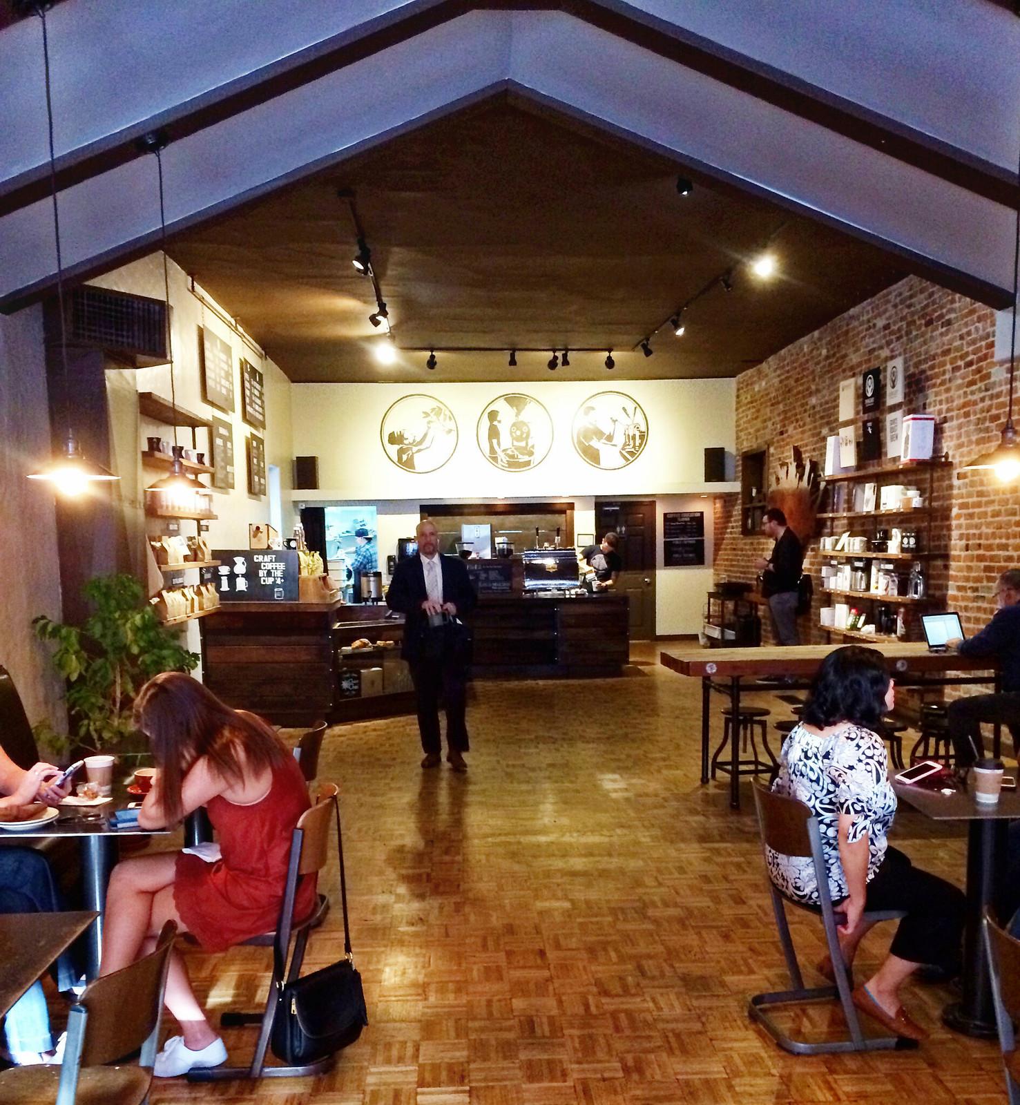 Insight Coffee Interior