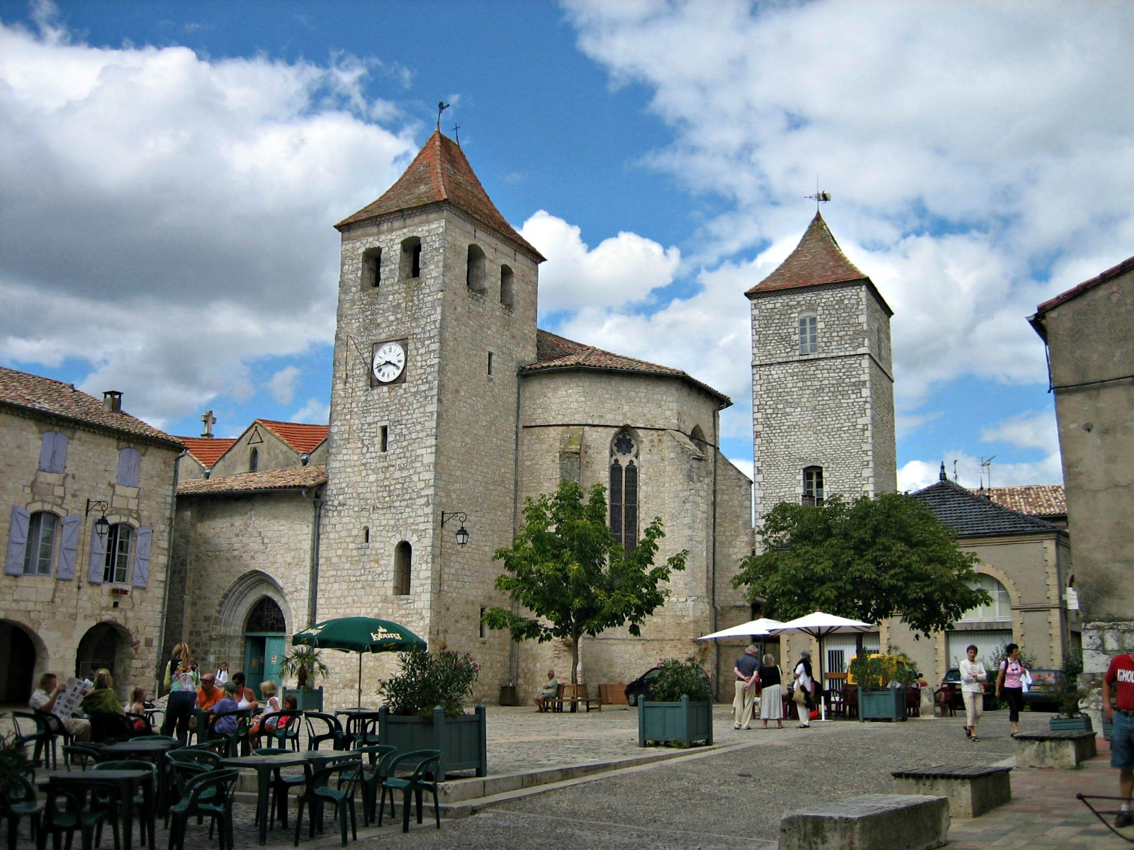 Beautiful medieval villages in Southwestern France