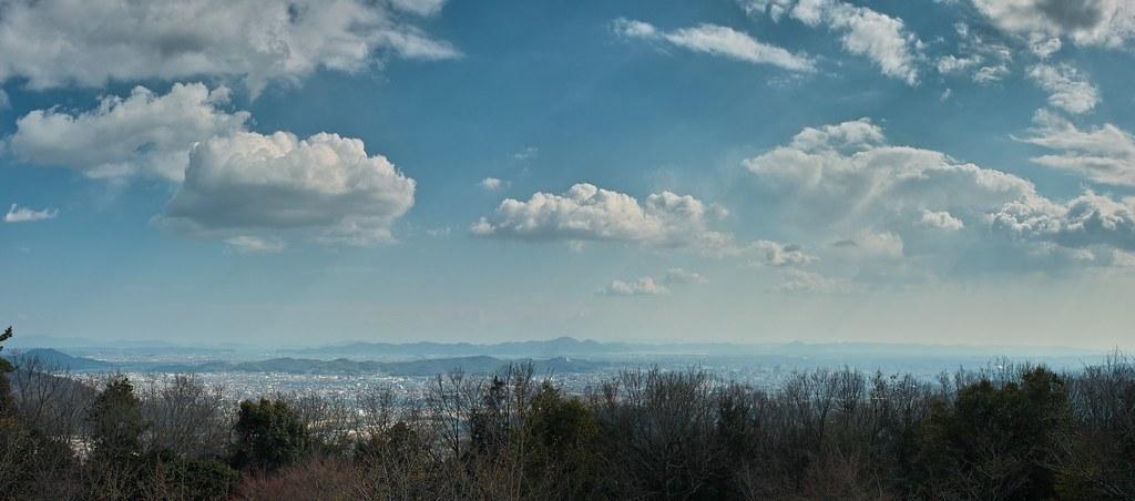 笠井山からの眺め(パノラマ)