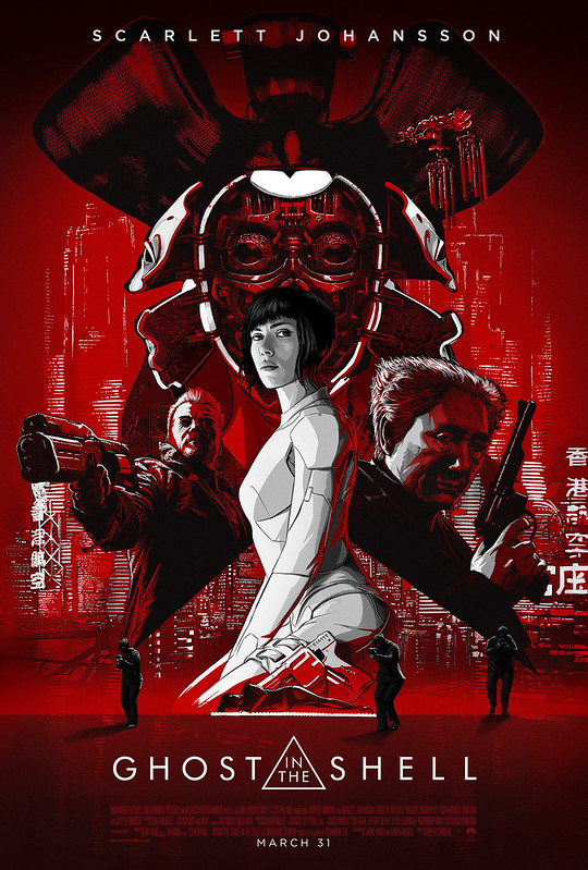 Ghost in the Shell - 2017 - Poster 2