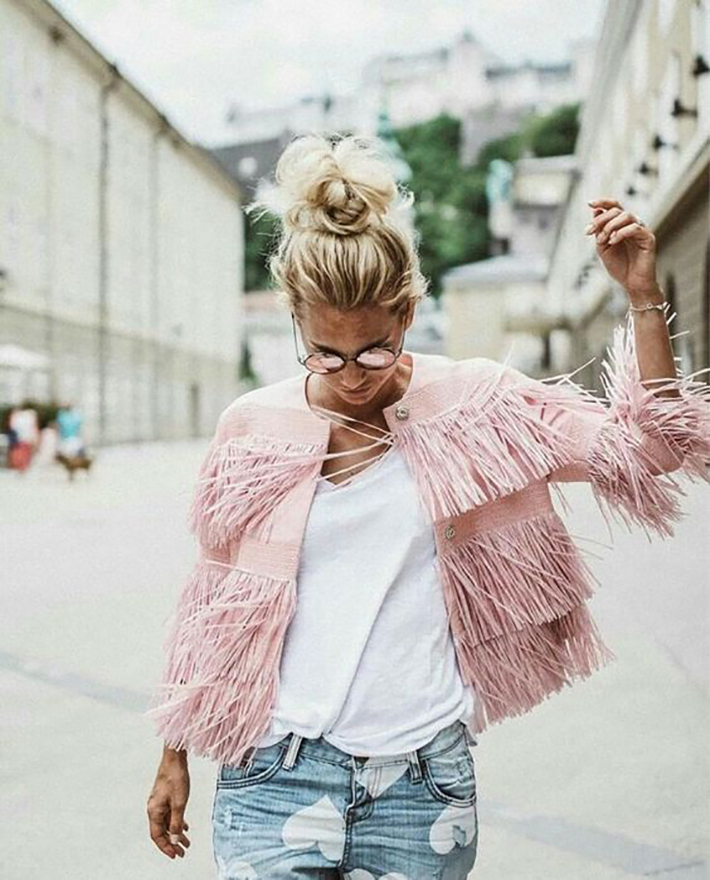 spring pink outfits inspiration accessories fashion trend style12