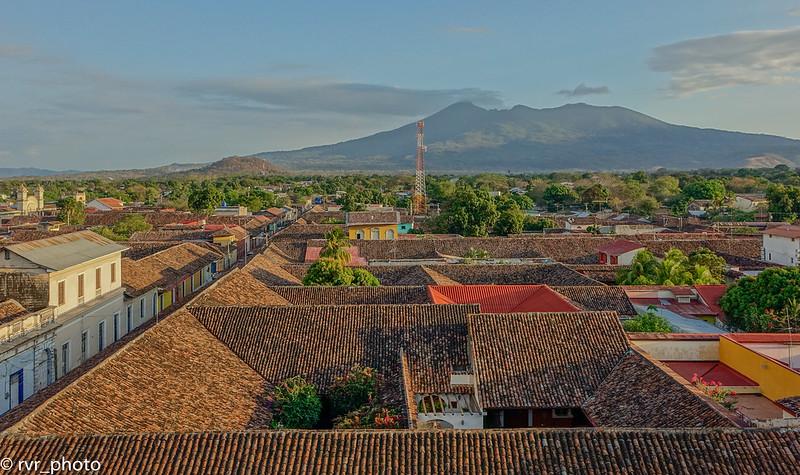 Vista del Volcán Mombacho, Granada, Nicaragua