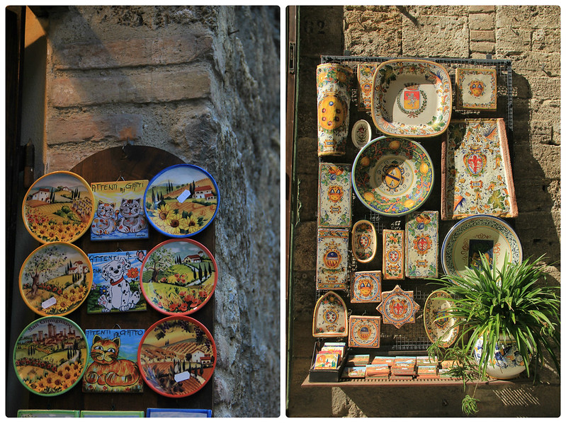 Ceramics, San Gimignano