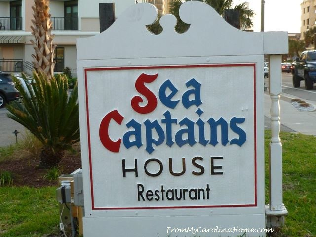 Sea Captains House 10 sign