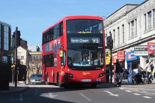 Go-Ahead London MHV36 BG66MKD